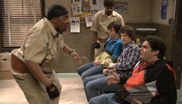 Scared Straight Keenan from Saturday Night Live SNL