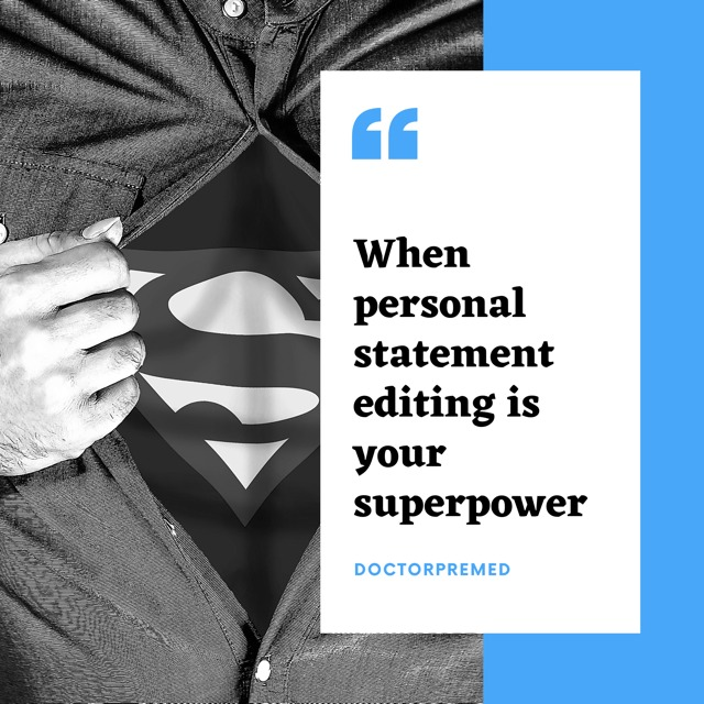 Personal Statement Superpower