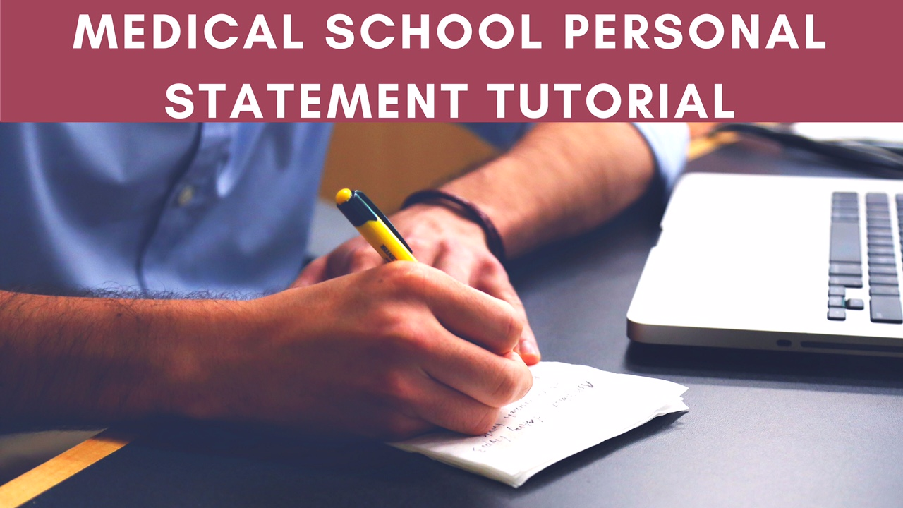 Medicine personal statement editing service