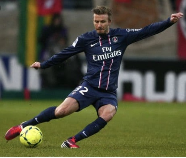 David Beckham soccer star