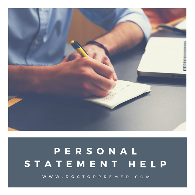Help Writing Your Personal Statement for Medical School